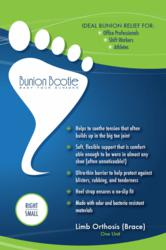 New Bunion Bootie Packaging (front)