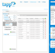 Tapp Infrastructure panel for multi cloud server management.