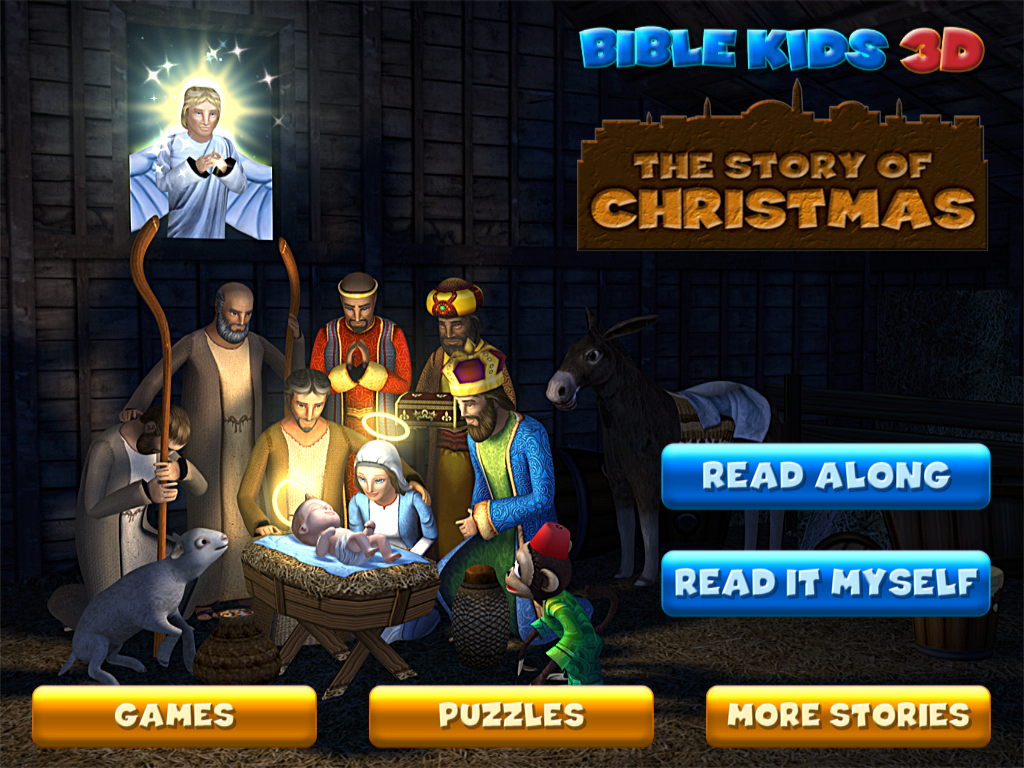 biblekids 3d releases 3 new digital books for iphone and ipod