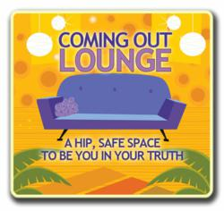 Coming Out Lounge Logo