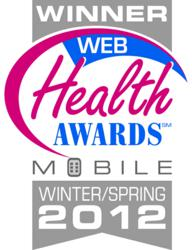 My Pain Diary for iPhone wins Web Health Award