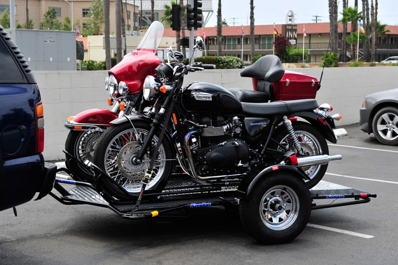 dual ride trailer motorcycle trailers kendon motorcycles srl harley ramp trailering designed releases discovered queen code through west last newly