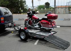 Dual Ride-Up SRL Motorcycle Trailers