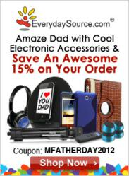 EverydaySource.com Father's Day 15% Off Promotion
