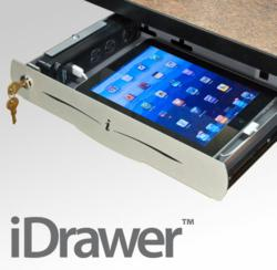 iDrawer by SMARTdesks for iPad Security and USB power