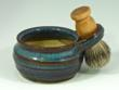 Universal Mama offers a Luxury Shaving Set with Vinca Leaf Shaving Soap.