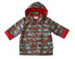 Toby Tiger Boys Dinosaur Raincoat