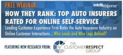 Free Webinar - How They Rank: Top Auto Insurers Rated for Online Self-Service