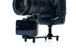 iCandy Smart Phone Mount on DSLR Cameras