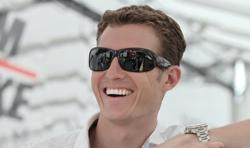 Ryan Briscoe wearing his Signature Edition Petrol Polarized Sunglasses
