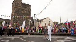 gI 102297 1256845 M01 Day 21: Olympic Flame to Visit Robert Burns Museum and Hampden Park on Journey From Stranraer to Glasgow