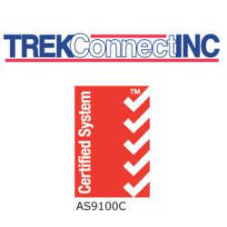 Trek Connect and AS9100C Logos