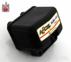 ACCEL Supercoil 3 oHm Sinhle Fire Ignition Coil for Harley