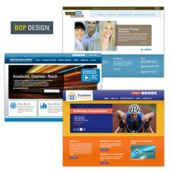 Website Designs Honored by the GDUSA American Web Design Awards