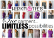 One hipKNOTies Limitless Fashion Possibilities
