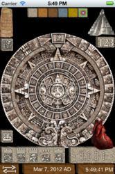 Maya Stone Calendar - Sun Stone
