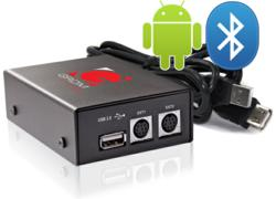 GROM-USB2 - Android Smartphone, USB, Bluetooth, iPod, iPhone, AUX-IN Integration to factory car radio