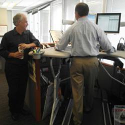 Treadmill desk from TrekDesk Featured in Worksite News