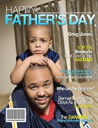 Father's Day Personalized Magazine Cover