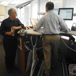 Treadmill desk from TrekDesk Featured in Worksite News