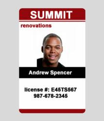 custom id card