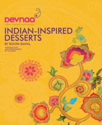 Devnaa: Indian Inspired Desserts (Book Cover)