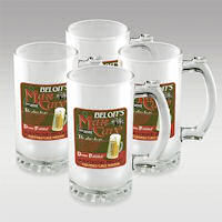 personalized glassware, customized gifts