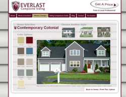 Everlast composite siding design tool helps homeowners for Home design tool