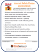 McGruff SafeGuard Internet Safety Pledge & Contract - Teen