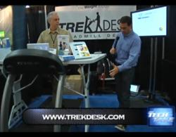 Clayton Morris Interviews Steve Bordley, CEO of TrekDesk Treadmill Desk