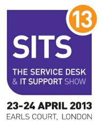 SITS13 - The Service Desk & IT Support Show