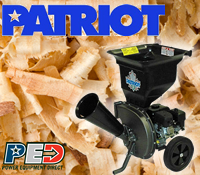 patriot products chipper, patriot products chippers, patriot products vac