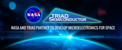 Triad Semiconductor NASA ViaDesigner Mixed Signal Radiation Hardened IC Design Cooperation