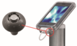 Invue Security Cell Phone Mounting Terminal