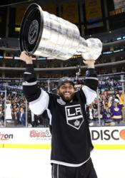 Jarret Stoll with 2012 Stanely Cup