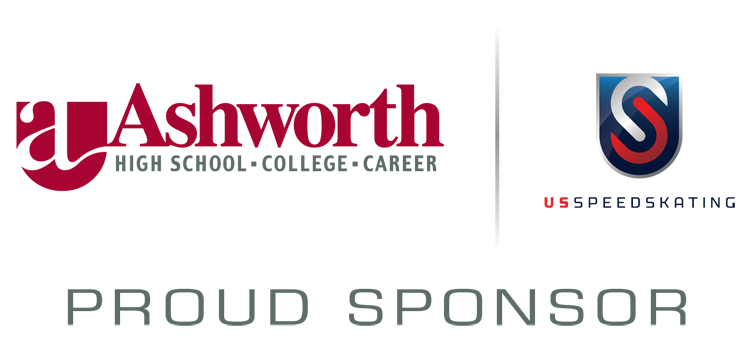 ashworth college and us speedskating team up to support