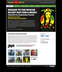 Reggae to the Rescue, A Benefit for Andy Roder Powell July 2, 2012 at the Belly Up Tavern in Solana Beach, CA