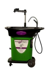 The SmartbikeWasher uses the award-winning SmartWasher Bioremediating Parts Washing System which is specially-adapted for bikes.