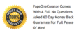 Page One Curator 60 Day Guarantee