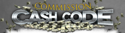 Commission Cash Code web application