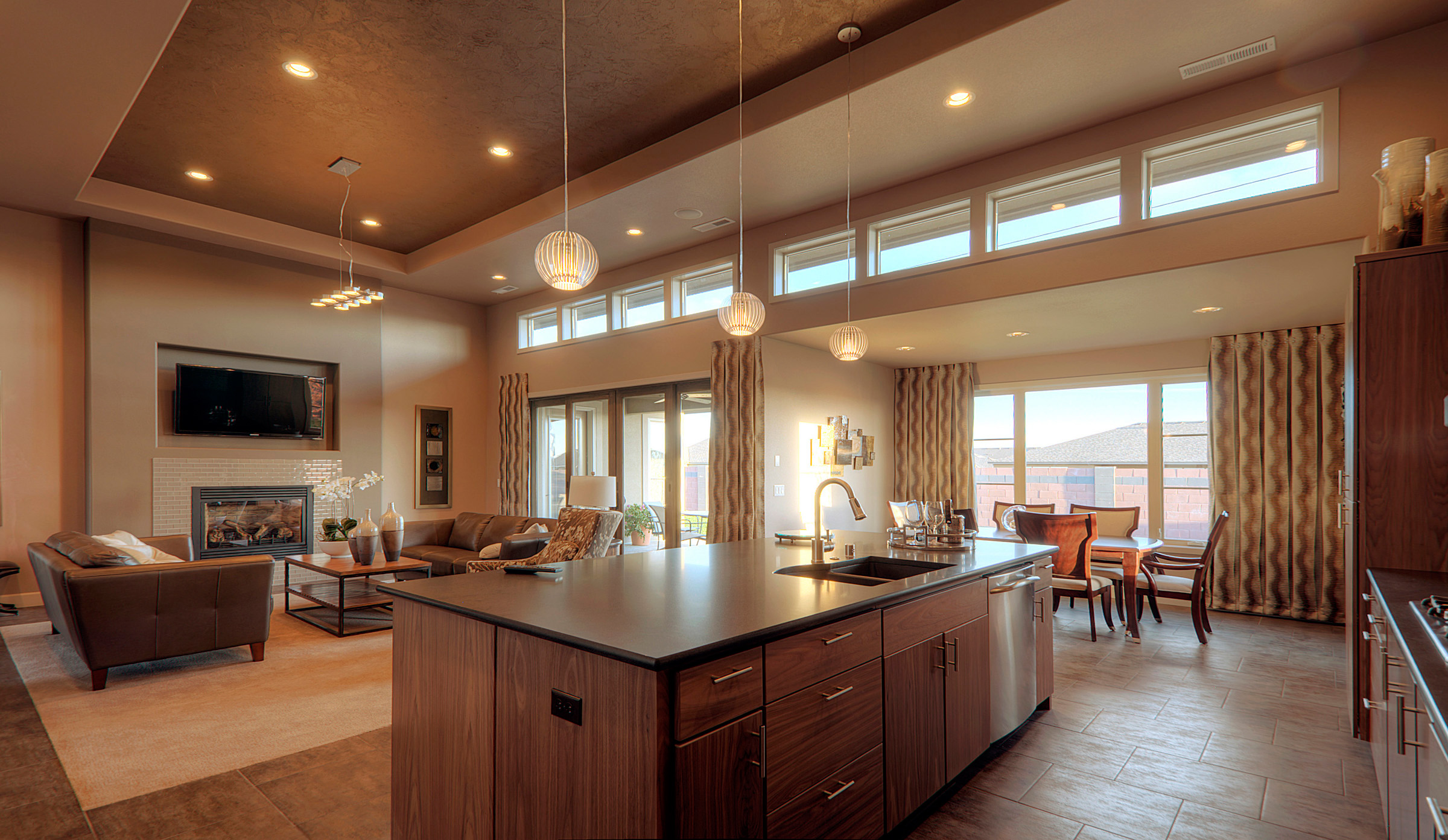 The Riverside House Plan Is A Modern Ranch Style Home Loaded With Amenitie,  Style And Grace.modern One Story House Plan From The House Designers