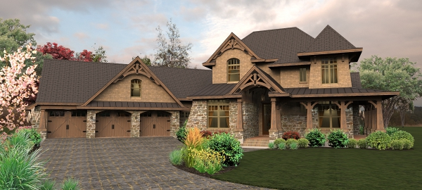The house designers unveil three new house plans custom t Rustic tuscan house plans
