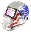 """Forney's new """"Glory"""" helmet (PN-55654) is the right fit for arc, MIG or TIG welding. Plus, the auto-darkening lens offers 28 percent larger viewing area (3.86"""" x 2.17"""") and four optical sensors."""