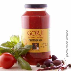 Gorji Gourmet Foods® Puttanesca Sauce, Pomodoro Sauce, Canary By Gorji, Chef Gorji, fine dining, Mediterranean Cuisine, seafood recipe, tilapia recipe, shrimp recipe