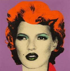 Kate Moss, 2005 by Banksy