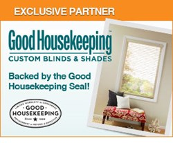 Good Housekeeping custom blinds and shades at SelectBlinds.com