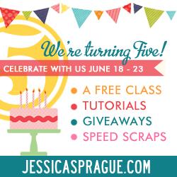 JessicaSprague.com 5th Birthday Celebration
