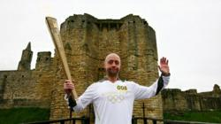 Day 28: Olympic Flame to visit Warkworth Castle and Whitley Bay on journey from Alnwick to Newcastle-upon-Tyne