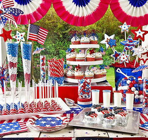 party city serves up patriotic party ideas for a rocking