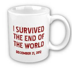I Survived 12-21-2012 Mug with your LOGO